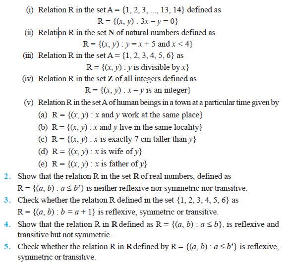 Inverse Trigonometric Functions Class NCERT Solutions