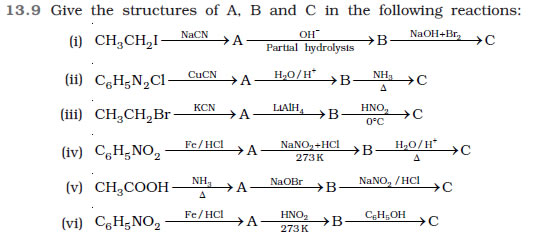 Hydrocarbons Class 12 NCERT Solutions