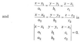 Equation of Planes with Given Conditions