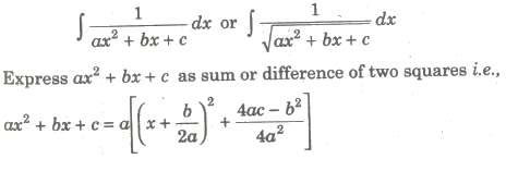 Important Forms to be converted into Special Integrals