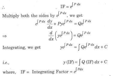 math notes for Class 12 Download PDF Differential Equations
