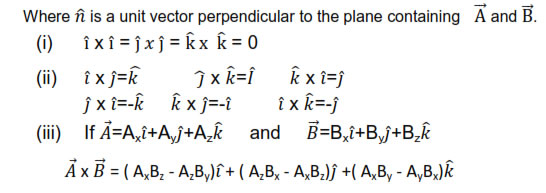Motion In A Plane Physics Class 11 Physics Formulas Projectile