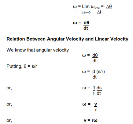 physics homework #61 angular velocity