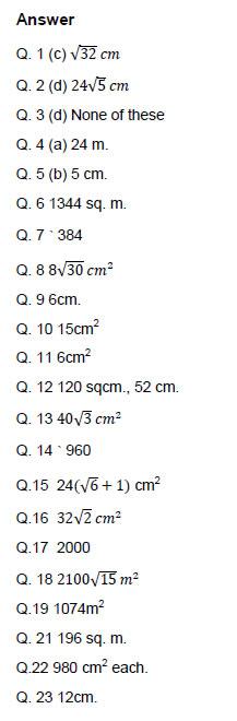 Maths Formulas For Class 9 Sa2 - ncert solutions for class 9