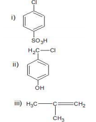 Write the major product(s) of the following reactions