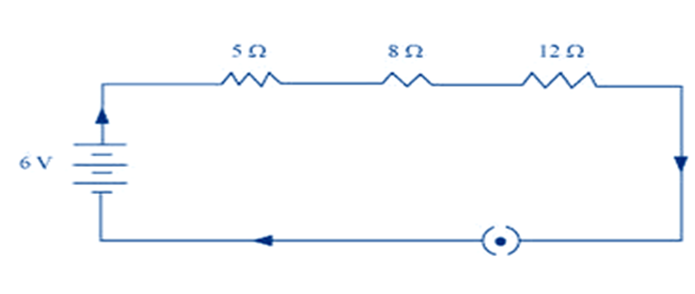 Draw A Schematic Diagram Of A Circuit Consisting Of A Battery Of